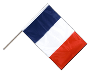 France - Hand Waving Flag PRO 2x3 ft