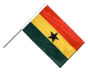Ghana Hand Waving Flag PRO 2x3 ft