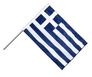 Greece Hand Waving Flag PRO 2x3 ft