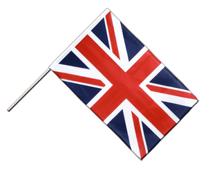 Great Britain Hand Waving Flag PRO 2x3 ft