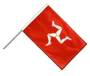 Isle of man Hand Waving Flag PRO 2x3 ft