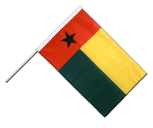 Guinea-Bissau Hand Waving Flag PRO 2x3 ft