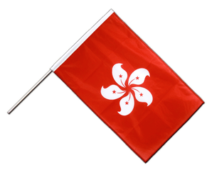 Hong Kong Hand Waving Flag PRO 2x3 ft