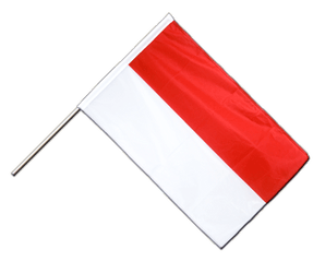 Indonesia Hand Waving Flag PRO 2x3 ft