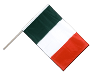 Italy - Hand Waving Flag PRO 2x3 ft