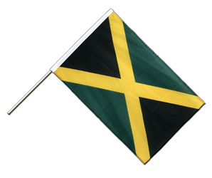 Jamaica Hand Waving Flag PRO 2x3 ft