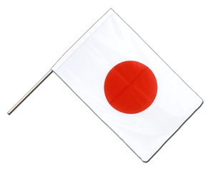 Japan Hand Waving Flag PRO 2x3 ft