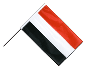 Yemen Hand Waving Flag PRO 2x3 ft