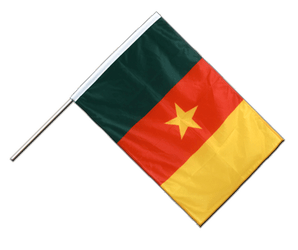 Cameroon - Hand Waving Flag PRO 2x3 ft