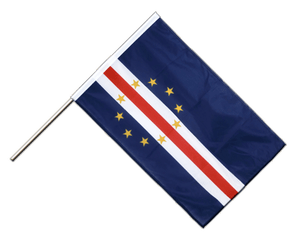 Cape Verde Hand Waving Flag PRO 2x3 ft
