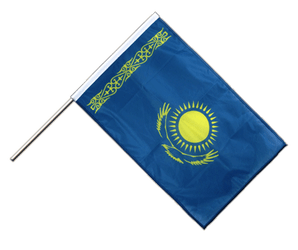 Kazakhstan - Hand Waving Flag PRO 2x3 ft