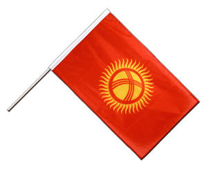 Kyrgyzstan Hand Waving Flag PRO 2x3 ft