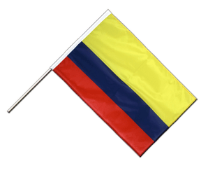 Colombia Hand Waving Flag PRO 2x3 ft