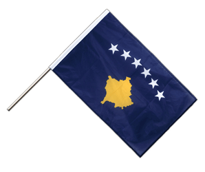 Kosovo Hand Waving Flag PRO 2x3 ft