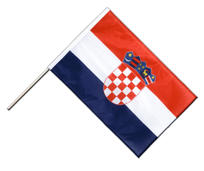 Croatia Hand Waving Flag PRO 2x3 ft