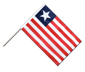 Liberia Hand Waving Flag PRO 2x3 ft