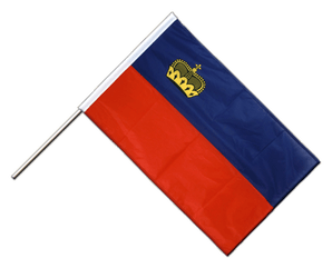 Liechtenstein Hand Waving Flag PRO 2x3 ft