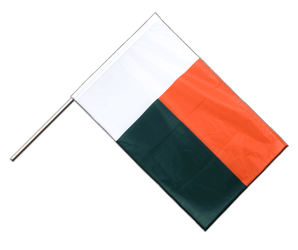 Madagascar Hand Waving Flag PRO 2x3 ft