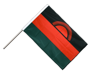 Malawi Hand Waving Flag PRO 2x3 ft