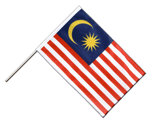 Malaysia Hand Waving Flag PRO 2x3 ft