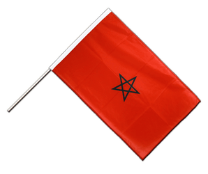 Morocco Hand Waving Flag PRO 2x3 ft