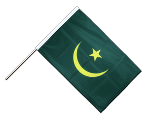 Mauritania - Hand Waving Flag PRO 2x3 ft