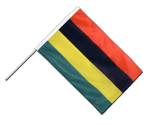 Mauritius - Hand Waving Flag PRO 2x3 ft