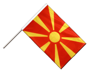 Macedonia - Hand Waving Flag PRO 2x3 ft