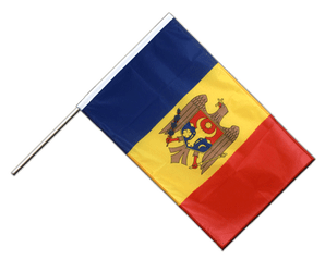 Moldova Hand Waving Flag PRO 2x3 ft