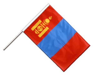 Mongolia Hand Waving Flag PRO 2x3 ft