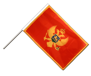 Montenegro Hand Waving Flag PRO 2x3 ft