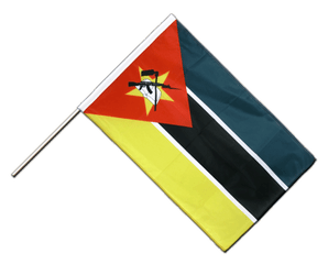 Mozambique Hand Waving Flag PRO 2x3 ft