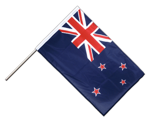 New Zealand - Hand Waving Flag PRO 2x3 ft