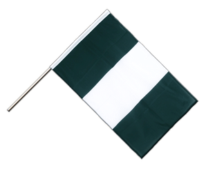 Nigeria - Hand Waving Flag PRO 2x3 ft