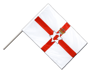 Northern Ireland Hand Waving Flag PRO 2x3 ft
