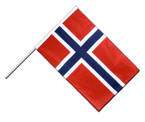 Norway Hand Waving Flag PRO 2x3 ft