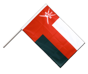 Oman - Hand Waving Flag PRO 2x3 ft