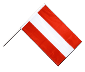 Austria Hand Waving Flag PRO 2x3 ft