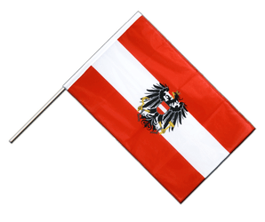 Austria eagle Hand Waving Flag PRO 2x3 ft