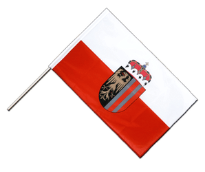 Upper Austria - Hand Waving Flag PRO 2x3 ft