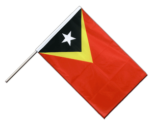 East Timor - Hand Waving Flag PRO 2x3 ft