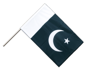 Pakistan Hand Waving Flag PRO 2x3 ft