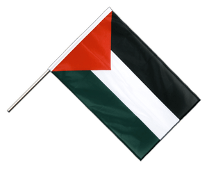 Palestine Hand Waving Flag PRO 2x3 ft
