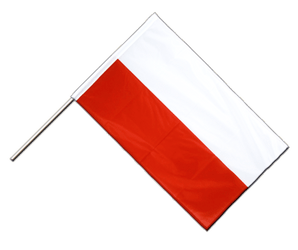 Poland - Hand Waving Flag PRO 2x3 ft