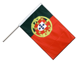 Portugal Hand Waving Flag PRO 2x3 ft