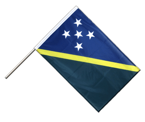 Solomon Islands Hand Waving Flag PRO 2x3 ft