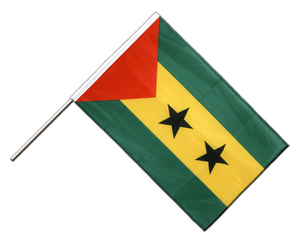 Sao Tome and Principe Hand Waving Flag PRO 2x3 ft