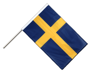 Sweden Hand Waving Flag PRO 2x3 ft