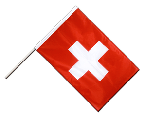 Switzerland Hand Waving Flag PRO 2x3 ft