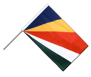 Seychelles - Hand Waving Flag PRO 2x3 ft